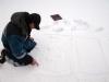 Székely Gyula a hóban