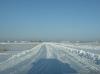 2010 tél, a tisztított pálya, 1100 méter